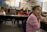 DM0647   in Ms. Deanna Blunt's second grade class at Valley View Elementary School in Denver,...