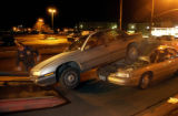 Denver, Colo., photo taken December 16, 2004- No one was injured in this accident that closed off...