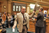 Cowboy Wes  (Rep. Wes McKinley (cq) D-Walsh) is recognized in the House of Representatives to...
