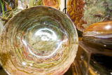 Dishes made from rock like the pictured Banded Onyx bowl for $140.00 are a part of the many unique...