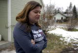 FT COLLINS, Colo, December 12, 2004) Carla Dinnacenzo,20, a student at CSU and a neighbor of a...