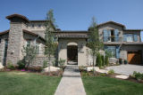 La Belle Maison,  one of the houses in this Parade of Homes this year.  The theme is Tuscan;...