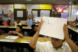 Kevin Quintero, 10, (cq) a fifth grader at Village East Community Elementary School at 1433 South...
