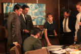 "Scene from tv show, ""Mad Men."""