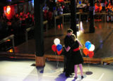 Jeff Crank kisses his wife Lisa after conceding the race to Doug Lamborn in the Republican primary...