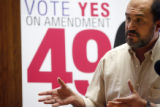 Amendment 49, the fall ballot that would make it harder for the fast-growing government unions to...