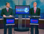 Republican Bob Schaffer and Democrat Mark Udall square off in a debate sponsored by Channel 2 and...