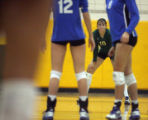 Highlands Ranch HS played Mountain Vista HS in the Class 5 women's volleyball. Highlands Ranch won...