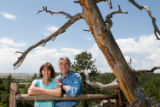 Cutline: Mark Udall, his wife Maggie Fox in August 2007. MORE CUTLINE INFORMATION COMING