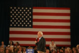 JOE0137 Republican presidential nominee John McCain smiles an thanks a women for attending his...