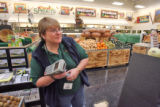 Scanner Debbie Navarro (cq) at at Sprouts Farmers Market in Westminster Thursday October 16,2008....
