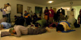 (12/27/04,Littleton, CO) Members of the Hindu Temple  and Cultural Center of the Rockies got...