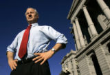 (DENVER, Co., SHOT 12/28/2004) Colorado State Treasurer Mike Coffman has raised concerns over over...