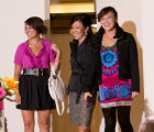 (Denver, Colorado, Oct. 15, 2008) The Perlmutters:  Abby, Deana (mother), and Zoe.  Saks Fifth...