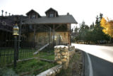 Exterior of Brook Forest Inn & Spa.  Home Front story about haunted businesses.    October 13,...