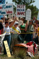 (DENVER, CO. 6/2/04)   Over 400 protesters from Colorado Springs, Boulder and Denver gathered...