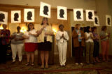 DENVER, COLO.  7/13/04  The National Coalition Against Domestic Violence  held their 3rd day of a...