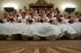 Debutante ball at the Brown Palace in Denver, Colo., on Sunday, December 22, 2004.  The debutantes...