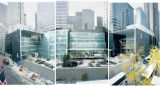 (NYT45) NEW YORK -- Nov. 14, 2004 -- MOMA-ARCHITECTURE-REVIEW -- The expanded Museum of Modern Art...