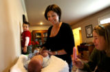 (PG2932)  Dr. Cindy Long is an ob-gyn and a mother of three. She spends the afternoon with her...