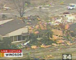 "RMN017_WINDSOR_TORNADO A large tornado wreaked ""total destruction"" in the northern..."