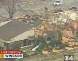 "RMN018_WINDSOR_TORNADO A large tornado wreaked ""total destruction"" in the northern..."