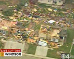 "RMN014_WINDSOR_TORNADO A large tornado wreaked ""total destruction"" in the northern..."