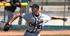 Chatfield winning pitcher Taylor Rogers,  Friday morning, May 9, 2008, at Denver All City Stadium,...