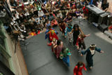 MJM778  Denver Public Schools students perform at the Denver Performing Arts Complex Friday...