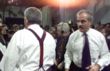 NYT10 - FILE (NYT10) NEW YORK -- Jan. 10, 2005 -- CBS-ASSESS -- Andrew Heyward, right, president...