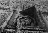 DM1092  This photo shows the construction taking place at the Fort St. Vrain nuclear reactor. This...