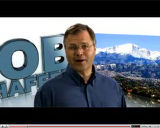 Screen shot of Bob Schaffer Television ad CORRECTED VERSION with Pike's Peak