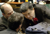 ( Denver, Colo., January 12, 2004) Joint session of the legislature to address state budget...