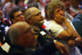 MJM1587   People attending the 3rd Congressional District's meeting listen to discussion Friday...