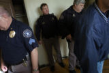 (12/29/04,DENVER, CO)   Deputy Gary Gregory went to three residences on Wednesday to evict people...
