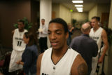#31 Jermyl Jackson-Wilson (cq) at the Coors Event Center in Boulder, Thursday, October 9, 2008.  ...