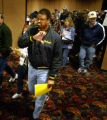 (Denver, Colo., Nov. 34 2004)  Denver grocery workers vote on whether to accept a new contract...