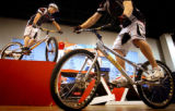 (DENVER, Colo.,  SHOT 11/5/2004)   Ripstoke team members Kevin Shiramizu (left) of Denver and Mike...