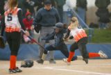 2004 Colorado 3A state softball tournament at Aurora Sports Park in Denver, Colo., on Friday,...