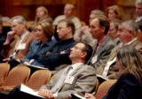 Denver, Colo., photo taken April 14, 2005-Members enrolled in Access Denver, a annual two-day...