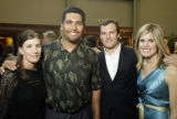 (Denver, Colo., April 16, 2005) Rebecca and Luther Elliss with John and Linda Lynch.  Cherish the...