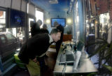 "[DENVER, Colo.,  Jan. 13, 2005) Microsoft  ""digital home"" exhibit on the 16th St. Mall..."