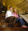(DENVER, Colo., April 21,2005) William Piper (cq), left, and his wife Miriam Piper (cq), right, in...