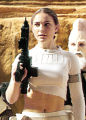 Padme Amidala (Natalie Portman) in a scene from Star Wars: Episode II Attack of the Clones.