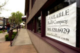 A store sits empty at the corner of 2nd Ave. and Detroit St. in Cherry Creek North Wednesday, May...