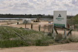 A gravel pit on April 25, 2005, in Adams County, owned by Aggregate Industries.  Adams County...