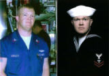(NYT33) UNDATED -- May 17, 2005 -- SUBMARINE-CRASH-6 -- Undated photos of machinist's mate Joseph...