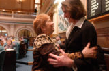 (DENVER, Colo., May 4, 2005) State Representative Debbie Stafford, R-Aurora, hugs University of...
