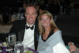 Eric Vinton and Kara Ryan. Dinner Patron Committee Members at the Outward Bound Black Tie Tuxes...