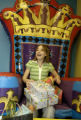 [Denver, Colo.,  Jan. 147 2005)  Claire Basil celebrates her twelth birthday opening presents on...